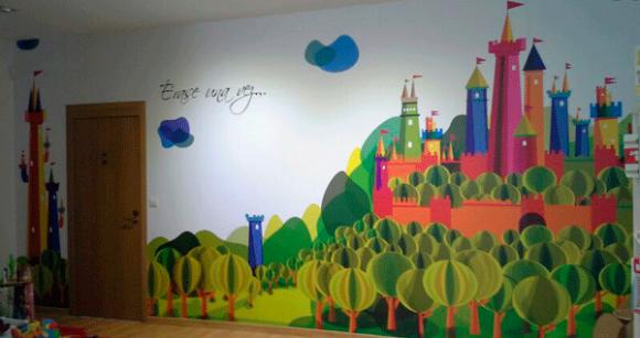 Mural decorativo. Stil Pictures