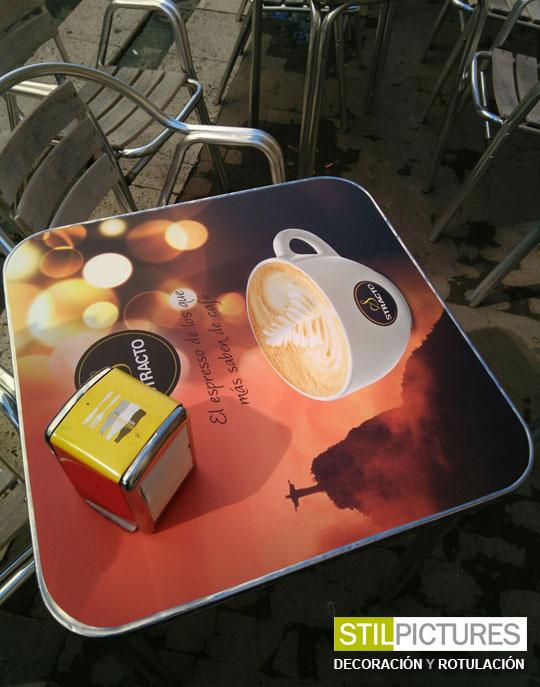 Stilpictures vinilo para mesa stilpictures - Vinilos para mesas ...