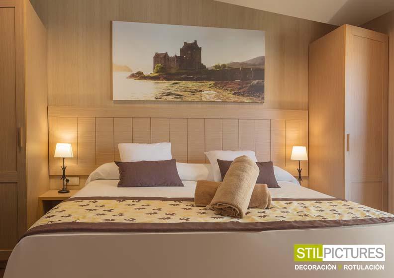 Cuadro cabecero cama cabecero cuadros cuadros cuadro grande como cabecero de la cama ares - Cuadros cabecero cama ...