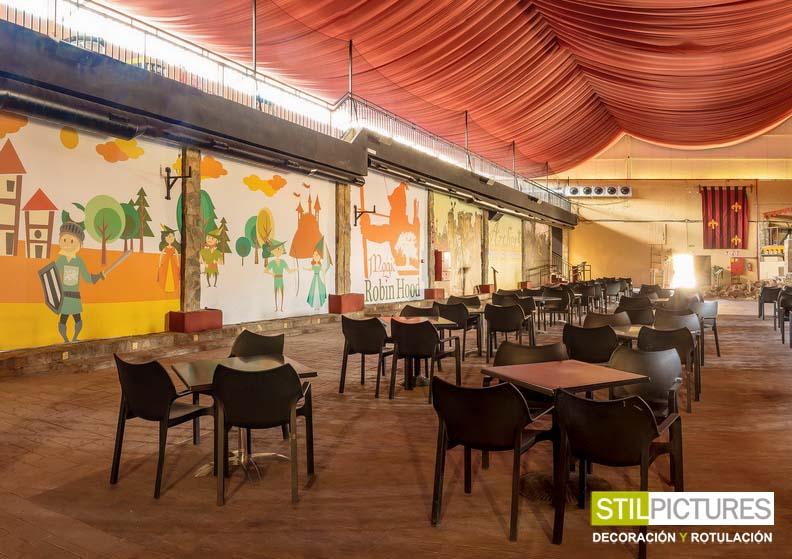 murales para restaurante