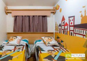Vinilos infantiles Hotel